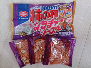 3 of the most popular snacks for Japanese people