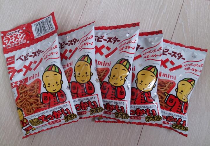 Baby Star Ramen Japanese snack