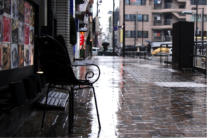 "Rainy season in Japan – called ""Tsu-yu"" and  ""Aki-same"""