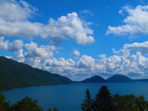 Cobalt Blue Mystery: Lake Shikotsu (Shikotsu-Ko)