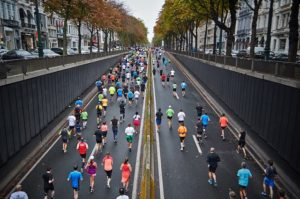 Joining a Marathon Race in Japan