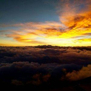 See Mt.Fuji at the Elevation of 3000m.