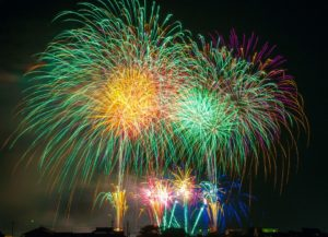 Fireworks Events in August