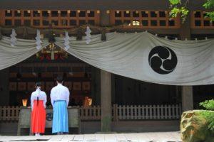 神社に訪れた際の行動の仕方
