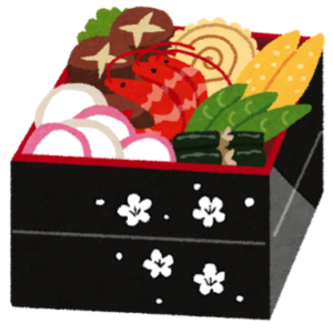 Osechi Ryouri ~A feast at A New Year's Day in Japan~
