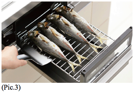 The handy fish broiler in Japanese kitchen | Guidable