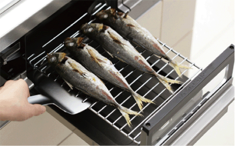 The Handy Fish Broiler In Japanese Kitchen Guidable