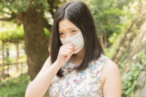 Why do the Japanese people wear mask?