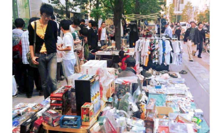 Looking for affordable items in Japan? Try going to Japanese Flea Markets!