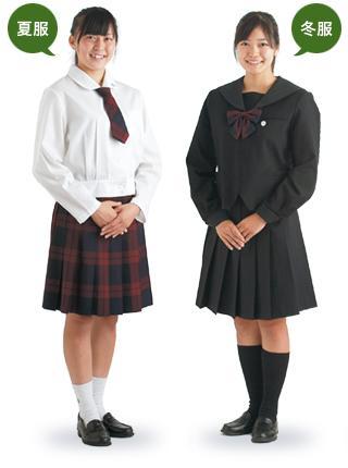 Japanese high school uniforms: Iwate Girls' High School in Iwate