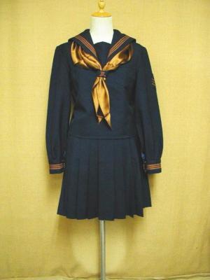 Japanese high school uniforms Kanto International Senior High School in Tokyo