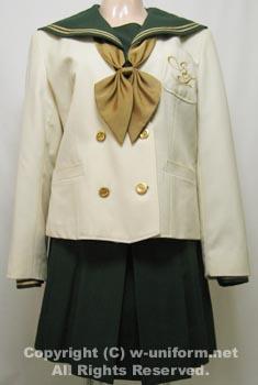 Japanese high school uniforms: Sukagawatoyo High School in Fukushima