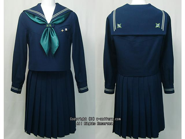 Japanese high school uniforms Nihon University Yamagata Senior High School in Yamagata