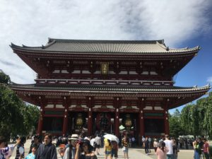 Sensō- ji Temple – Tokyo's Oldest Temple and one of the world's most visited spiritual sites