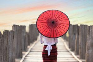 Come Sopravvivere alla Stagione delle Piogge in Giappone: Ombrelli