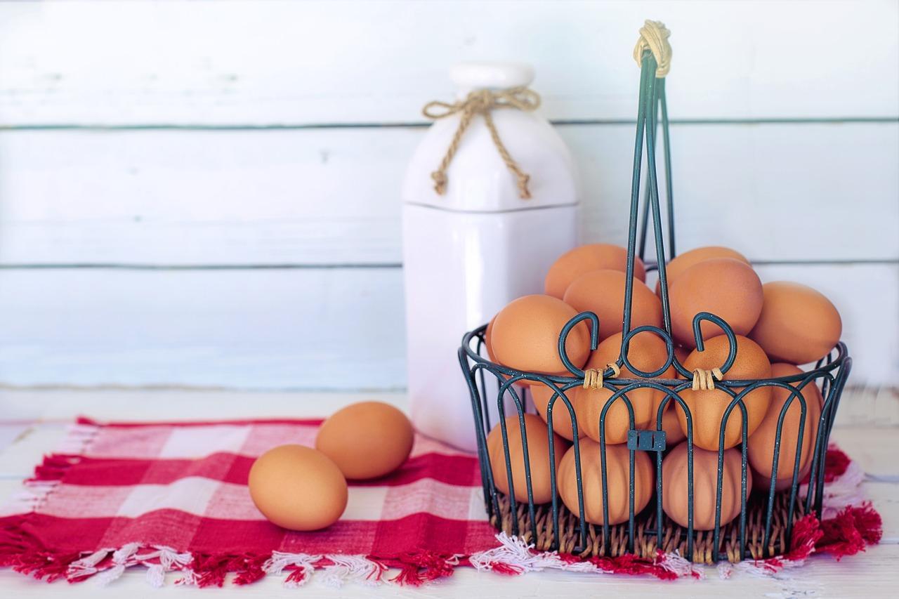 japanese raw food, eggs