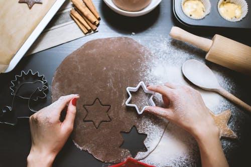 Making Valentine's Day chocolate