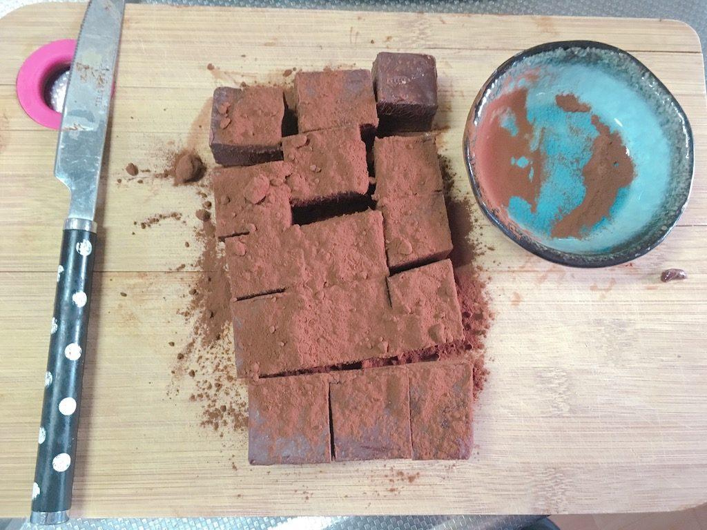 Happy Valentine's Day Chocolate prepare