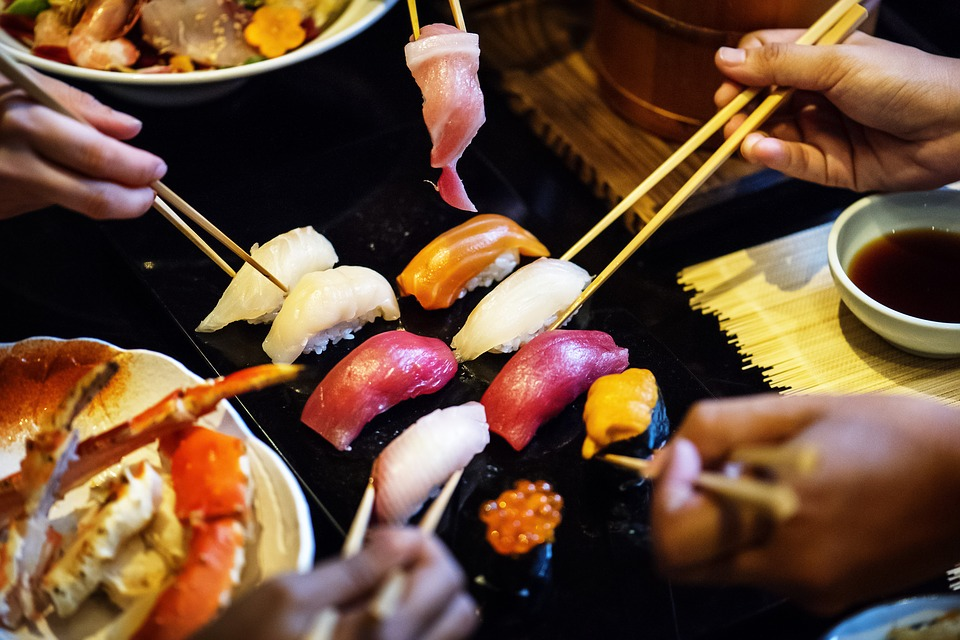 What is sushi? A sushi plater