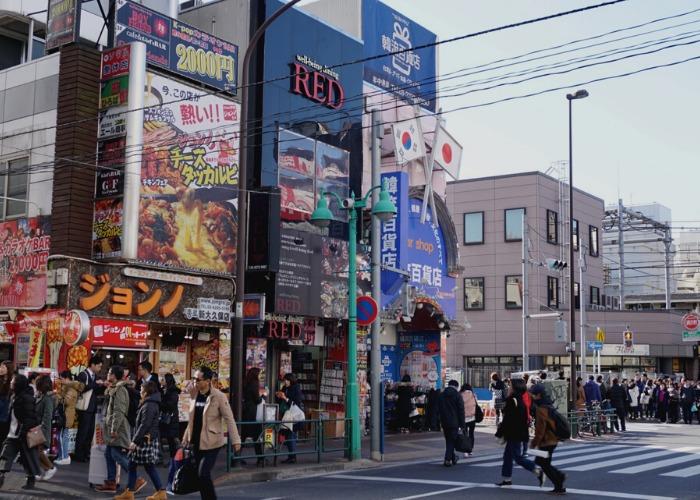 Shin-Okubo Korea Town