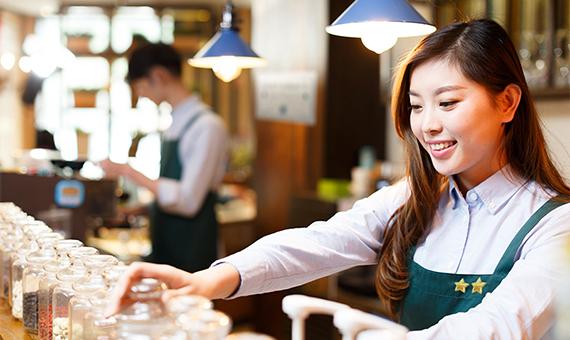 Working in Japanese Restaurant