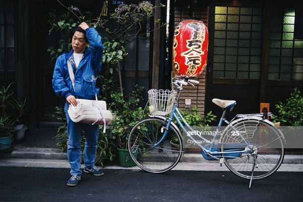 Newspaper Delivery in Japan