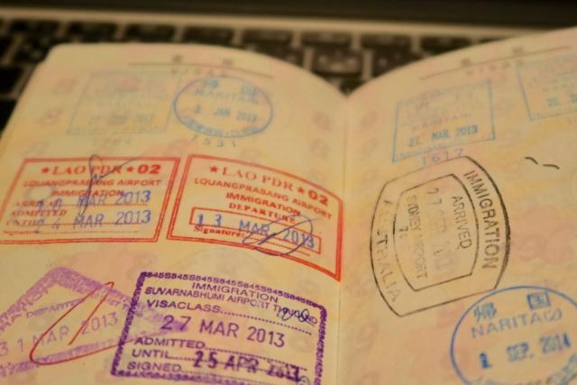 self-sponsored visa japan, passport
