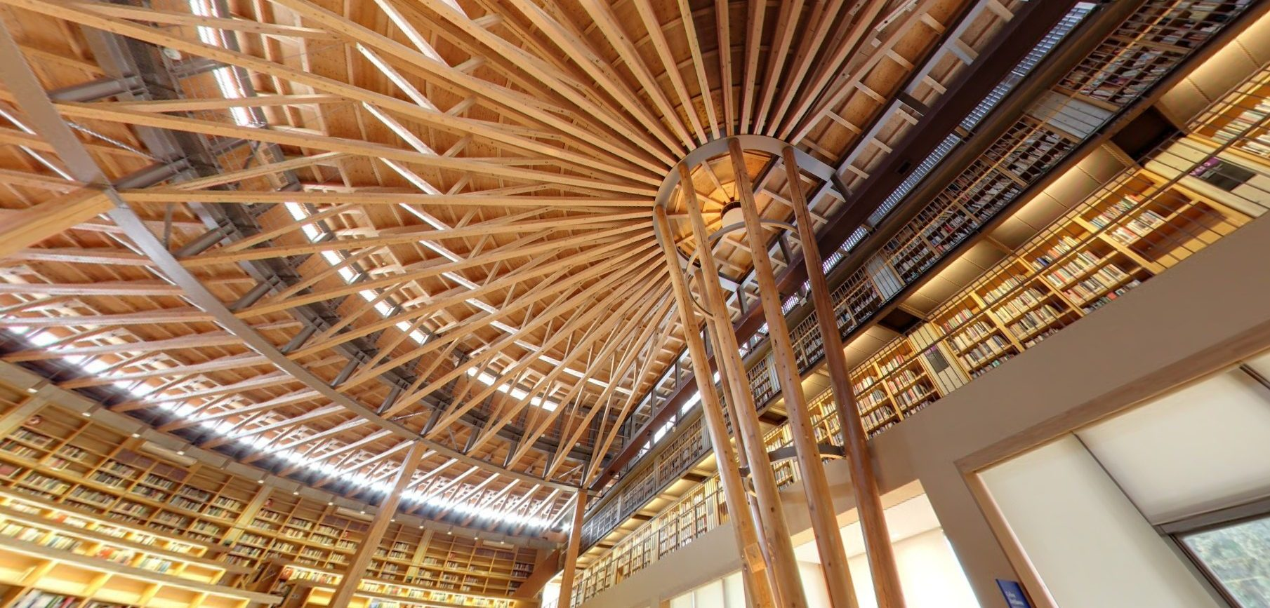 Nakajima Library, Libraries in Japan, Authentic Libraries