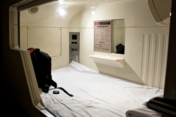 Capsule Hotels: Centurion Cabin and Spa - Ladies Only