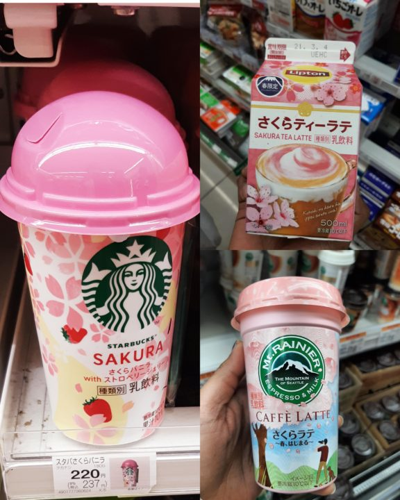 Picture of Sakura drinks