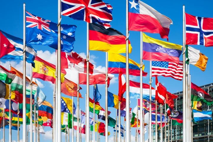 world flags, international flags, olympics flags