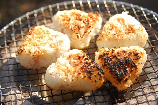 Kawagoe Street Food onigiri