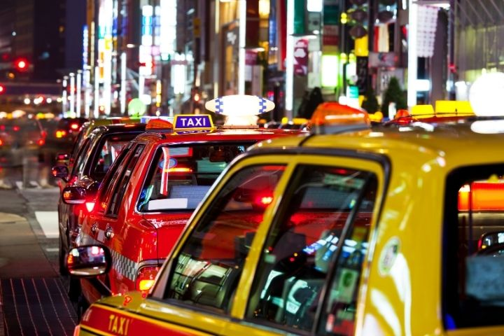 taxi driver in japan