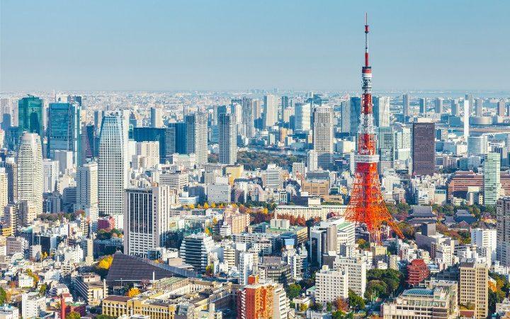 tokyo skyline, news in japan