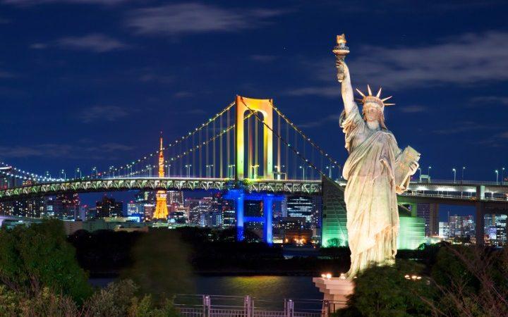 Odaiba Rainbow Bridge, What to do there