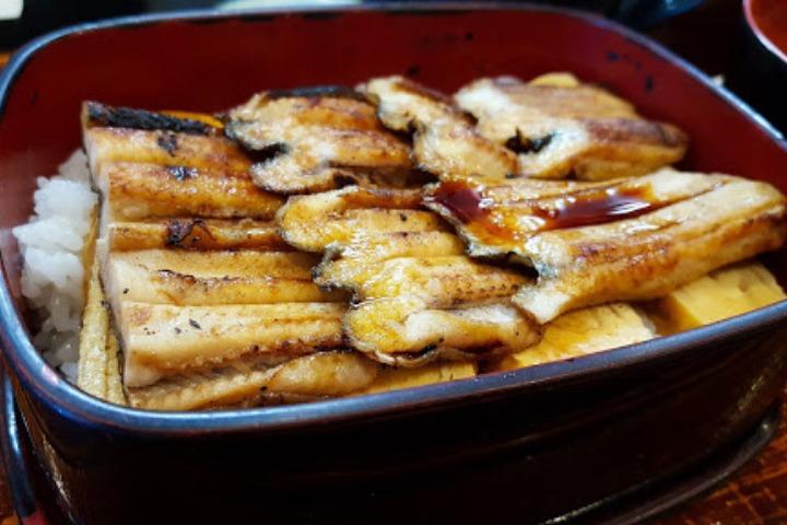 japanese eel dish unagi