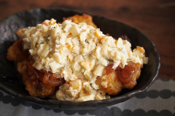 Japanese dishes from Kyushu chicken nanban