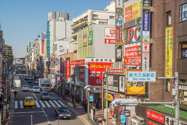 international neighborhoods in tokyo