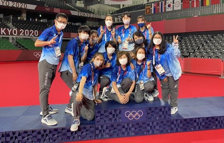 tokyo 2020 olympics volunteering group