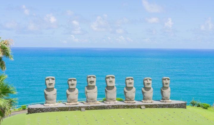 Interesting Miyazaki facts, Miyazaki Easter island statues