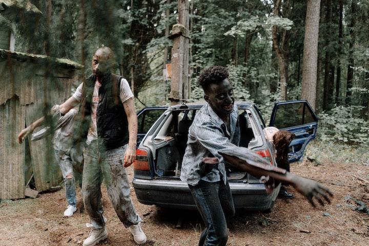 USJ, universal studios japan halloween zombie