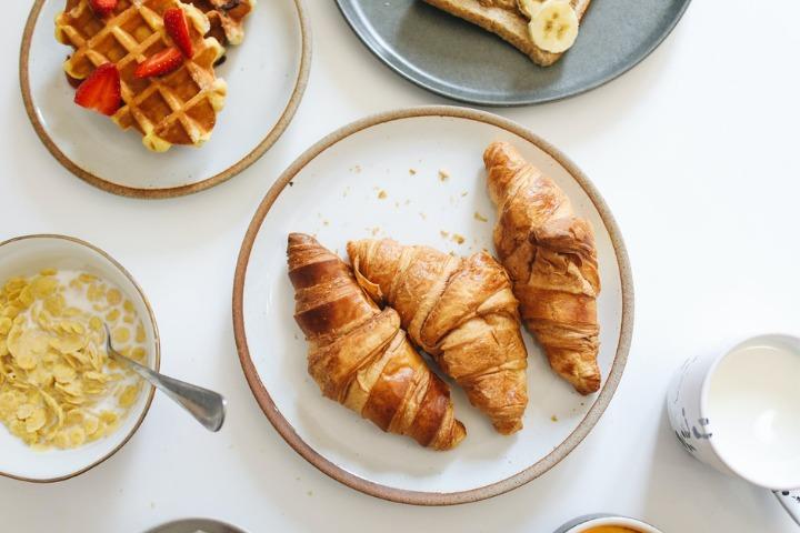 breakfast ideas, japan, yakiimo, shokupan