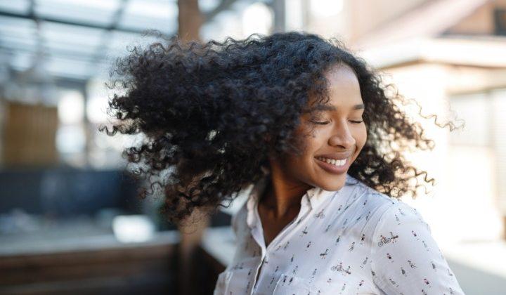curly hair, girl, japan