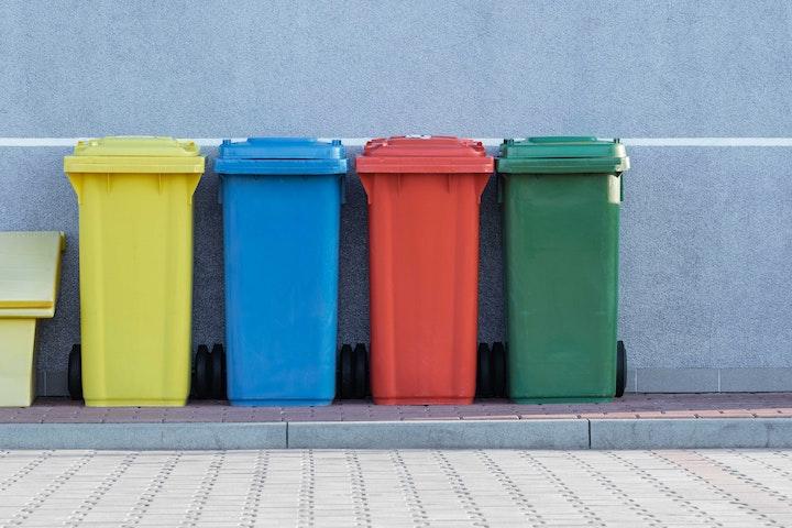 trash bins in japan